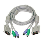 DVI KVM Combo Cable (Male-to-male)