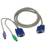 Slim 3-in-1 PS/2 KVM Combo Cable (Male-to-male)