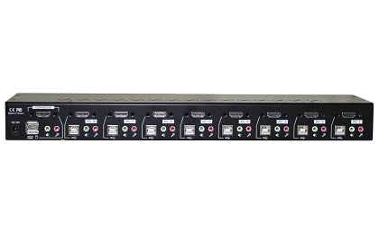 8-Port Rackmount HDMI USB KVM Switch