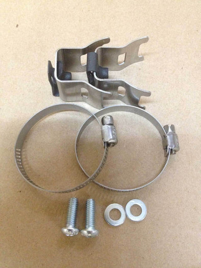 4 STROKE HEAT SHIELD CLAMP KIT 2 CLAMPS