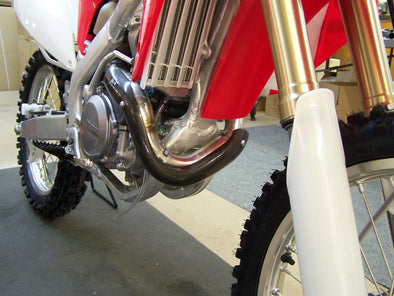 PIPE GUARD FMF POWERBOMB HONDA CRF 450R 2009-2010