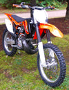 PIPE GUARD STOCK KTM 250 SXF/XCF 2011-12