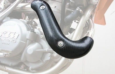 HEADER PIPE GUARD SINGLE/STK/AKROPOVIC  KTM