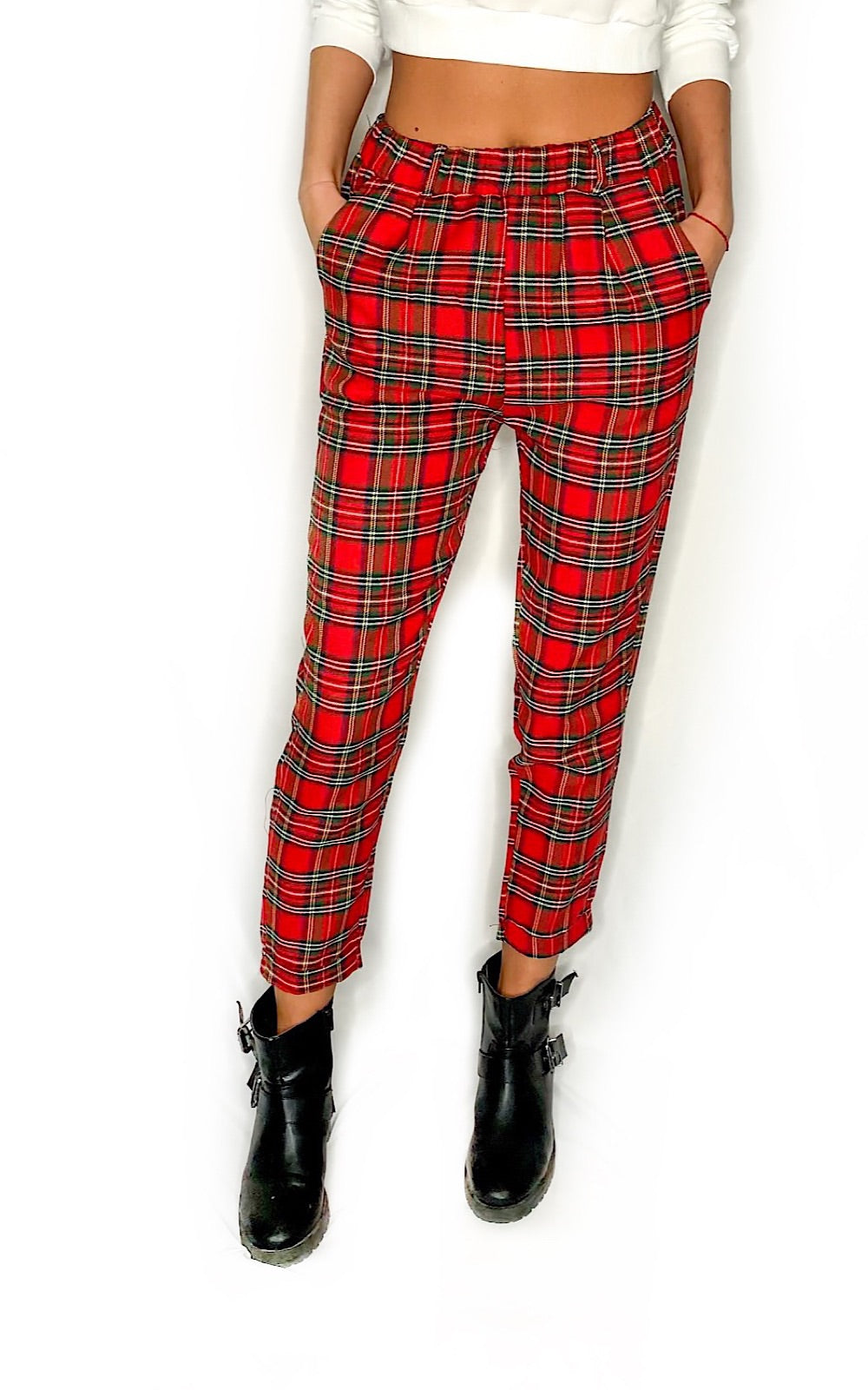 Romee Plaid Pants