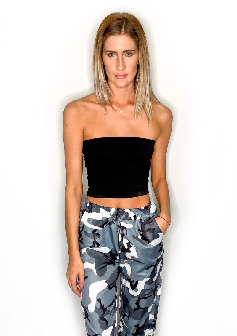 Alissa Tube Top - Black