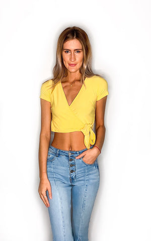 Flirty Crop Top