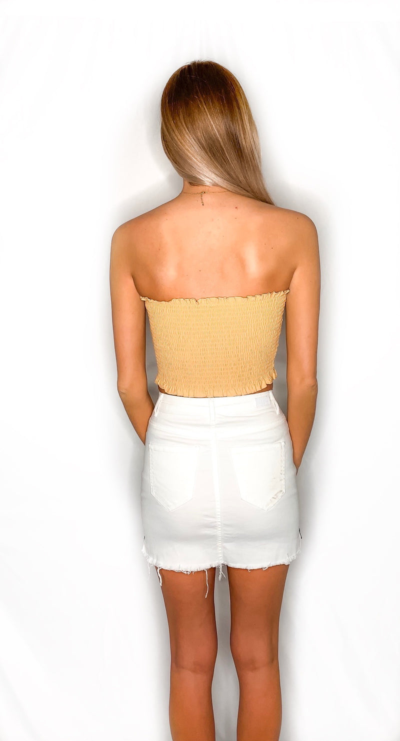 Pey Pey Tube Top- Yellow
