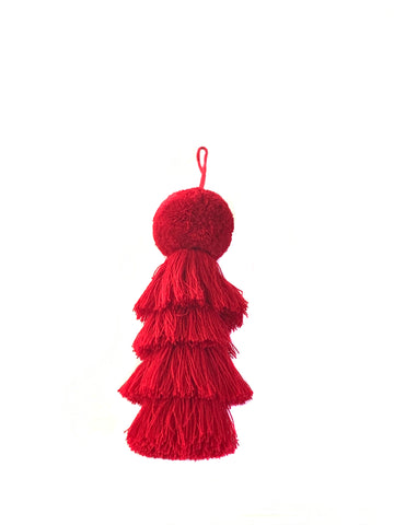 Cherry Red Tassel