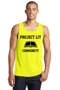 IN STOCK! Neon Yellow District® Young Mens The Concert Tank. DT5300.