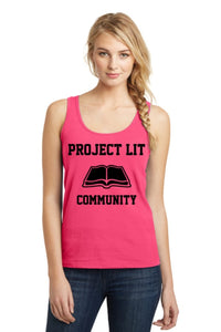 IN STOCK! Neon Pink District® Ladies The Concert Tank. DT5301.
