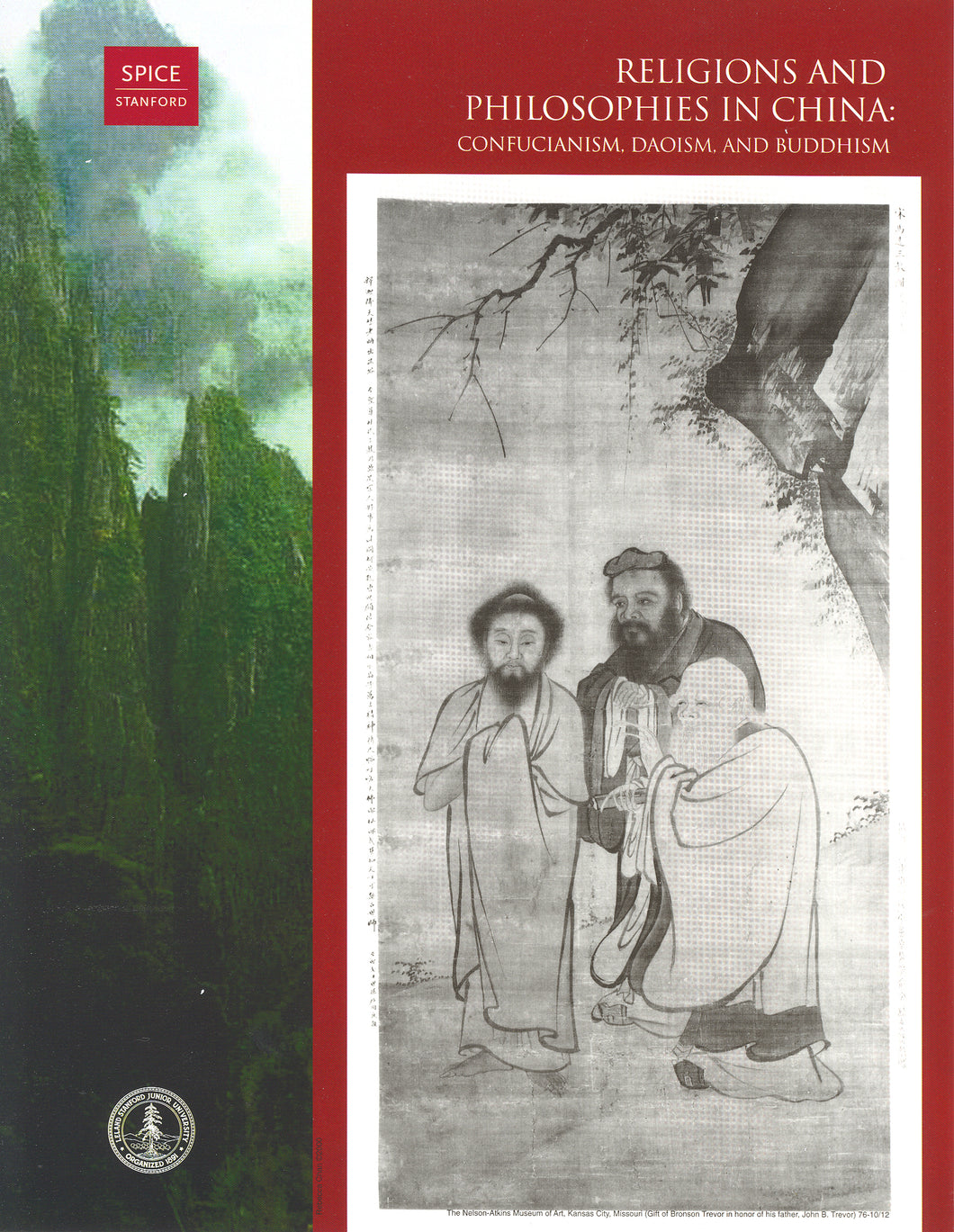 Religions and Philosophies in China: Confucianism, Daoism, and Buddhism