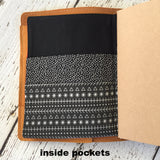 FABRIC Folder Insert for Travelers Notebook  B6 Field Notes