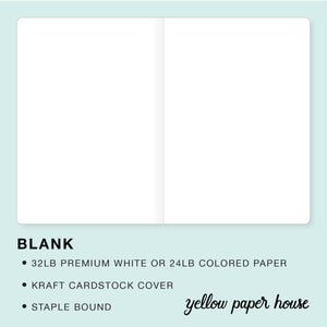 TRAVELERS NOTEBOOK INSERT - BLANK