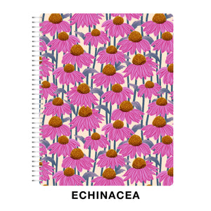 CLEARANCE - 1st Quality - Spiral 2021 Dated Vertical Weekly Planner - Echinacea (DVW3)