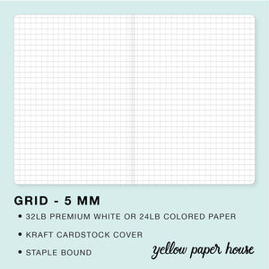 TRAVELERS NOTEBOOK INSERT - GRID - 5 MM