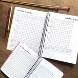 CLEARANCE - 2nd Quality - Spiral Knit & Crochet Notebook