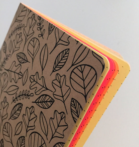 TRAVELERS NOTEBOOK INSERT - AUTUMN LEAVES