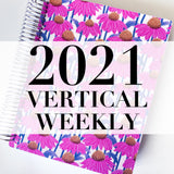 Spiral 2021 Dated Vertical Weekly Planner