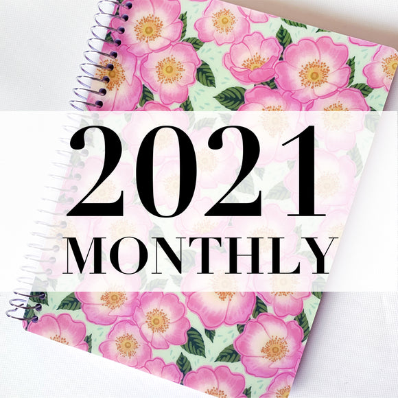 Spiral 2021 Dated Monthly Planner