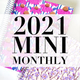 Spiral Mini 2021 Dated Monthly Planner