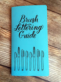 TRAVELERS NOTEBOOK INSERT - BRUSH LETTERING GUIDE