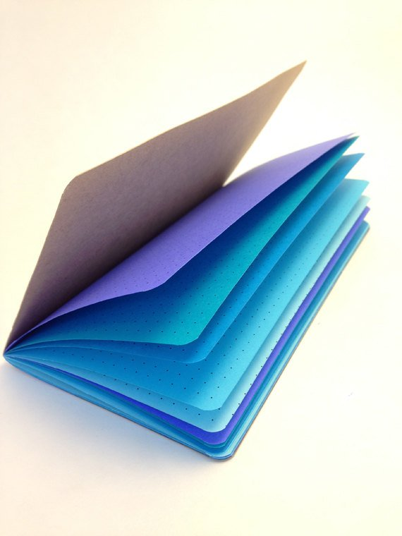 TRAVELERS NOTEBOOK INSERT - FEELIN' BLUE