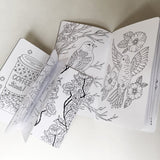 TRAVELERS NOTEBOOK INSERT - COLORING BOOK Volume 3