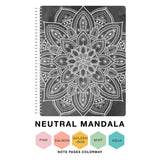 Spiral 2020-2021 Dated Vertical Weekly Planner