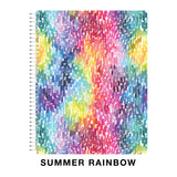 Ultimate Rainbow Spiral Classic Notebook
