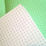 TRAVELERS NOTEBOOK INSERT - CROSS GRID