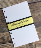 DISC PUNCHED PLANNER PAPER FITS HAPPY PLANNER or LEVENGER CIRCA - MIXED MEDIA PAPER