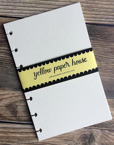 DISC PUNCHED PLANNER PAPER FITS HAPPY PLANNER or LEVENGER CIRCA - WATERCOLOR PAPER