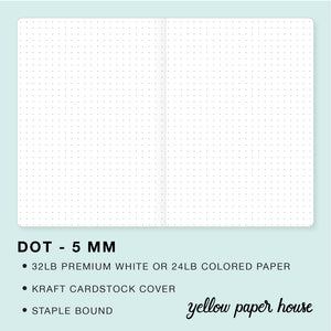 TRAVELERS NOTEBOOK INSERT - DOT - 5 MM
