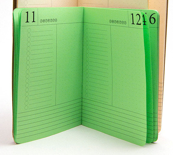 TRAVELERS NOTEBOOK INSERT - DAY PER PAGE CALENDAR
