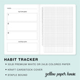 TRAVELERS NOTEBOOK INSERT - HABIT TRACKER