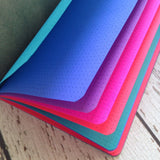 TRAVELERS NOTEBOOK INSERT - JEWEL TONES