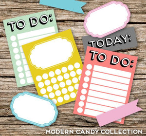 PRINTABLE DOWNLOAD - MODERN CANDY COLLECTION