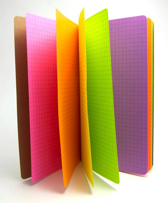 TRAVELERS NOTEBOOK INSERT - NEON