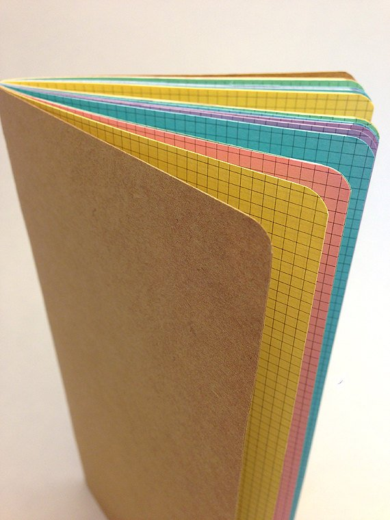 TRAVELERS NOTEBOOK INSERT - PASTEL