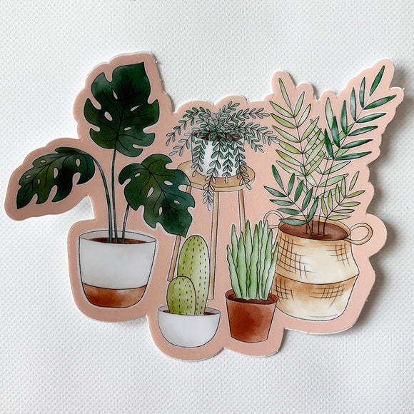 Houseplants Sticker  3