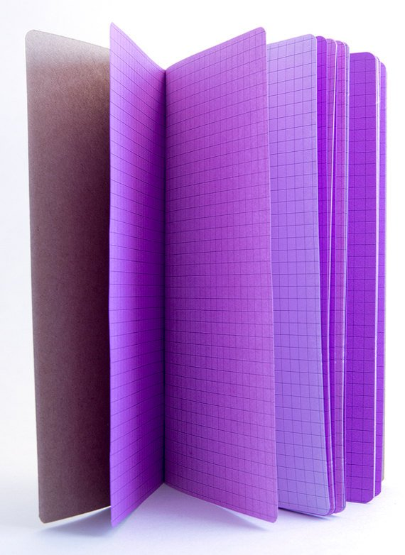 TRAVELERS NOTEBOOK INSERT - PURPLE PASSION