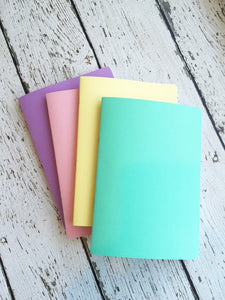 TRAVELERS NOTEBOOK INSERT - SPRINGTIME VALUE BUNDLE - 4 INSERTS