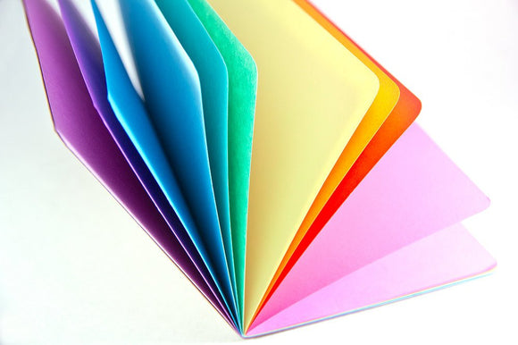 TRAVELERS NOTEBOOK INSERT - SPRING RAINBOW