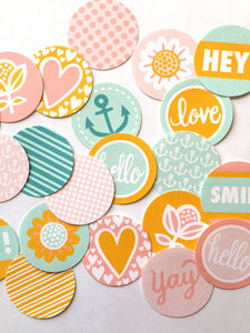PRINTABLE DOWNLOAD - SWEET COLLECTION - CIRCLES