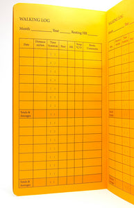 TRAVELERS NOTEBOOK INSERT - WALKING LOG