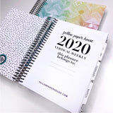 CLEARANCE - 2nd Quality - Spiral Mini 2020 Dated Vertical Weekly Planner (S2)