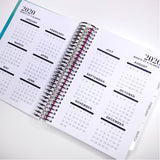 Spiral Mini 2020 Dated Vertical Weekly Planner