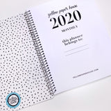 Spiral 2020 Dated Monthly Planner