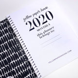 Spiral Mini 2020-2021 Dated Monthly Planner