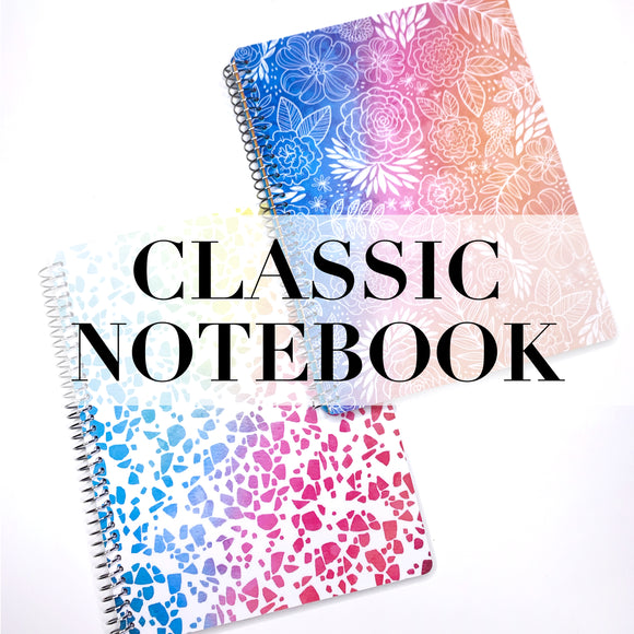 CLEARANCE - 2nd Quality - Spiral Classic Notebook